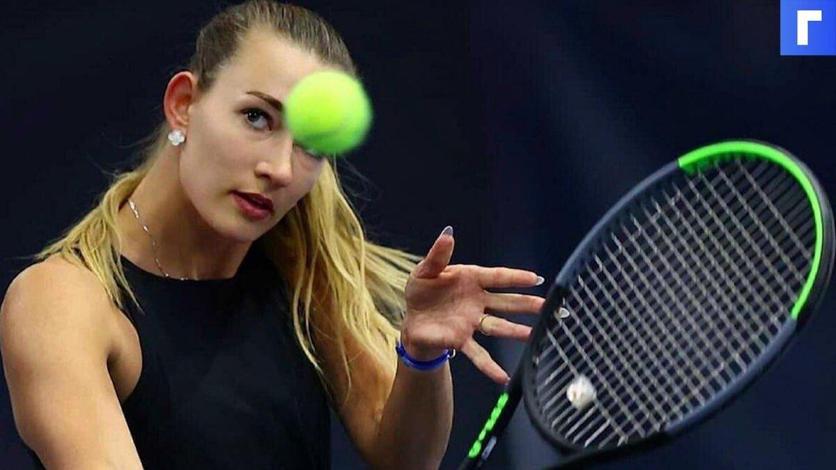 Российское консульство подтвердило задержание теннисистки Сизиковой в Париже