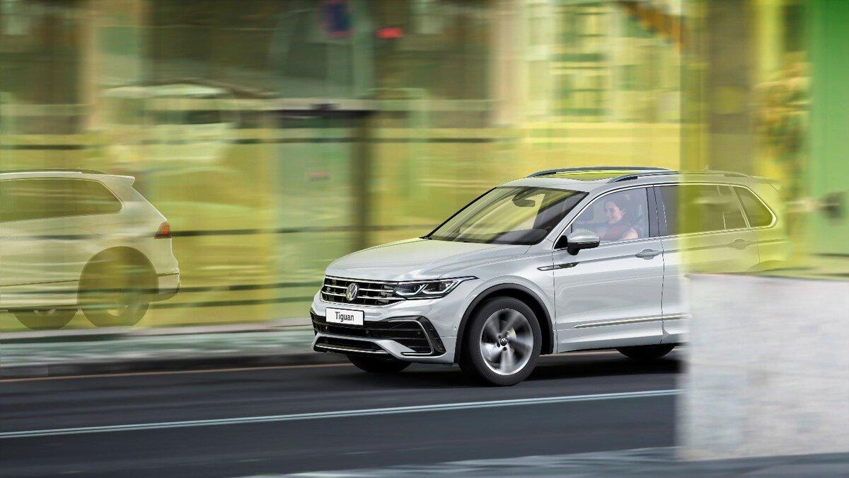Расширение линейки модификаций и опций для нового Volkswagen Tiguan