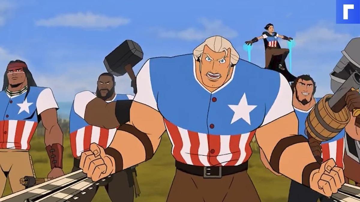 «Погнали зафигачим революцию»: Netflix выпустил трейлер анимационного фильма для взрослых «Америка»
