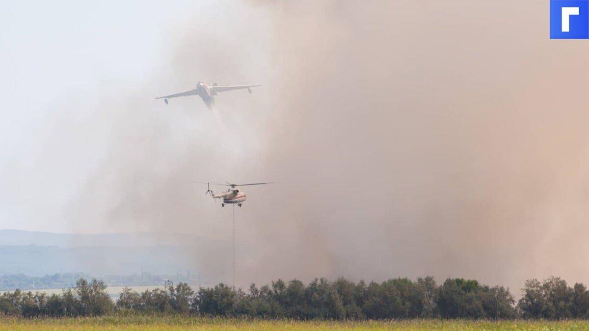 В Якутии вызвали искусственные дожди для тушения лесных пожаров