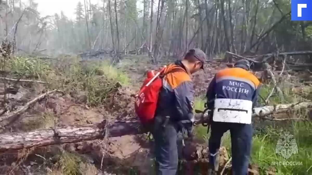 Глав трех районов Якутии призвали эффективнее тушить лесные пожары