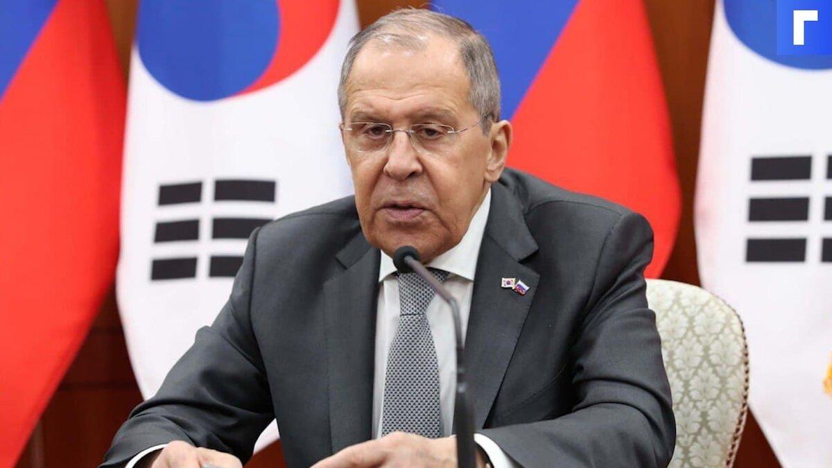 Лавров назвал «тупой» линию США в отношении России