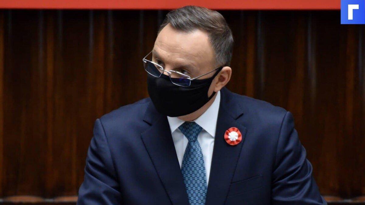 Дуда сообщил, что тему вступления Украины в НАТО обсудят на саммите в июне