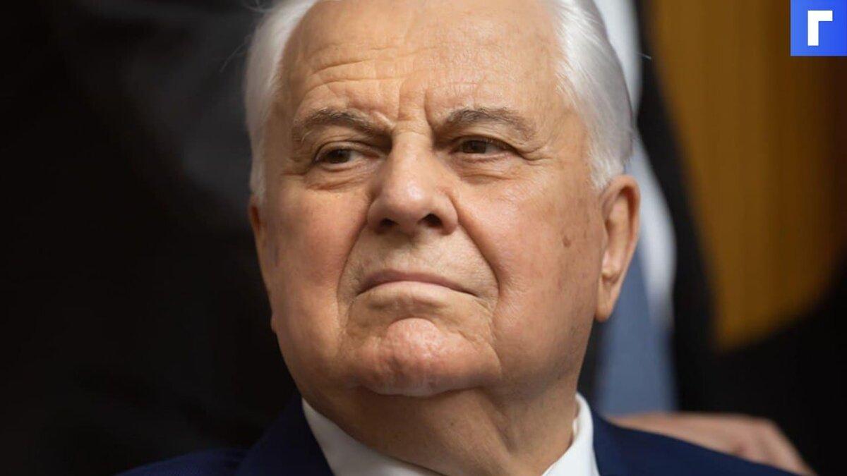 Кравчук допустил выход Украины из минского формата переговоров