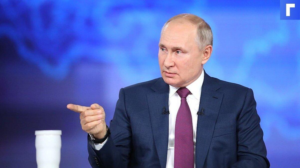 Путин пообещал выплату на шестилетних, даже если они не идут в школу