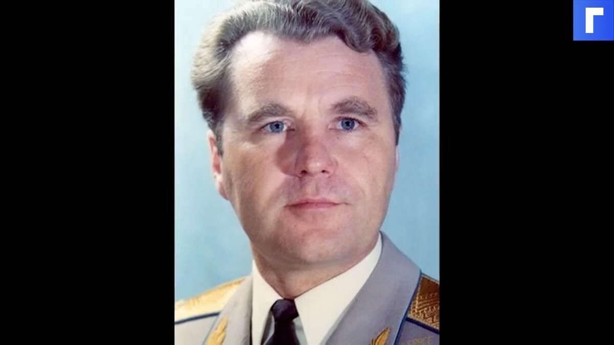 Ушел из жизни советский космонавт Владимир Шаталов