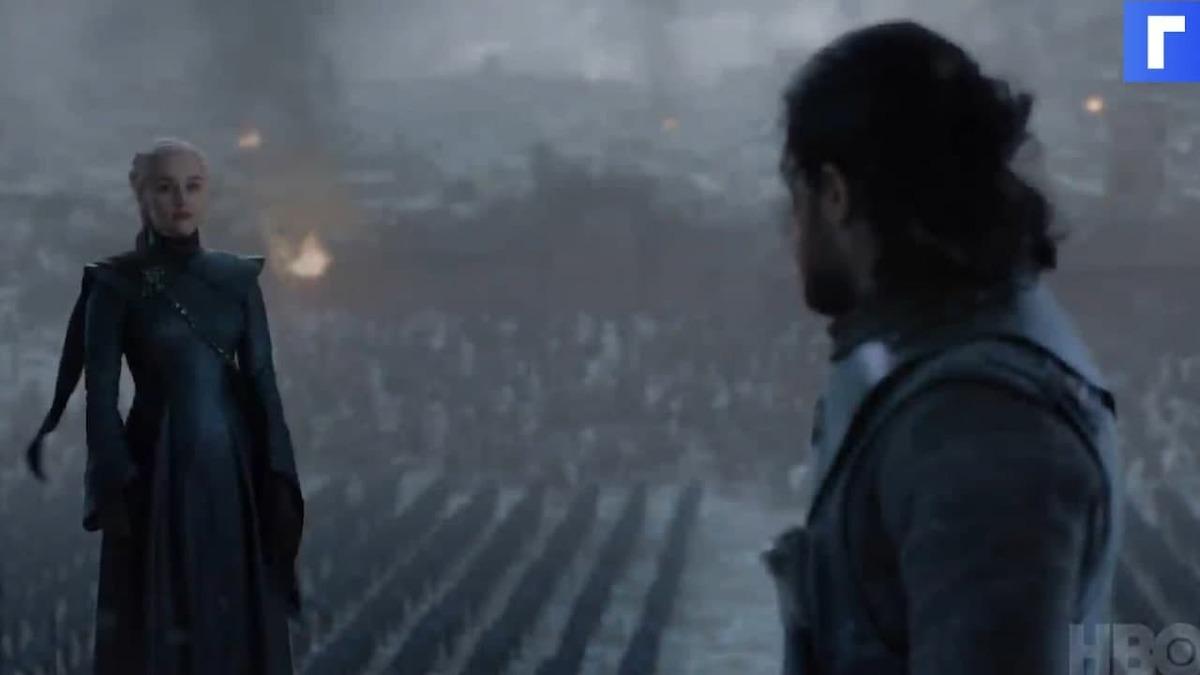 К юбилею сериала «Игра престолов» вышел неизданный ранее трейлер восьмого сезона
