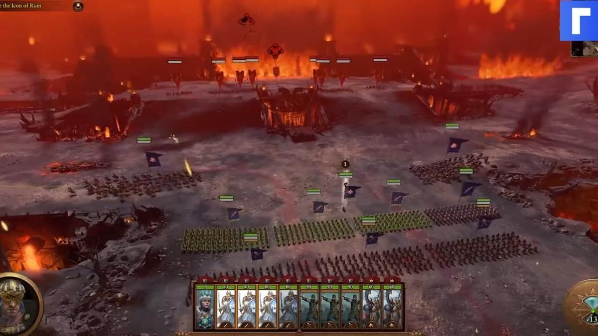 Авторы Total War: Warhammer III показали восемь минут геймплея