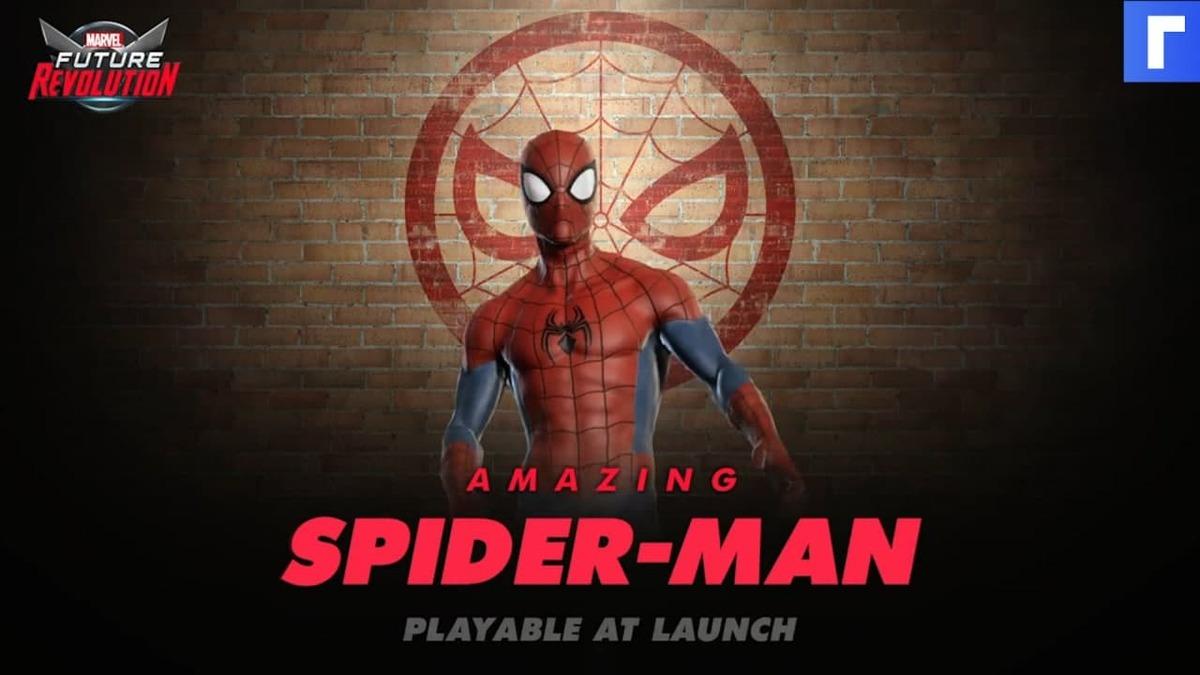 Человек-паук ловко дерется и стреляет паутиной в трейлере игры Marvel Future Revolution