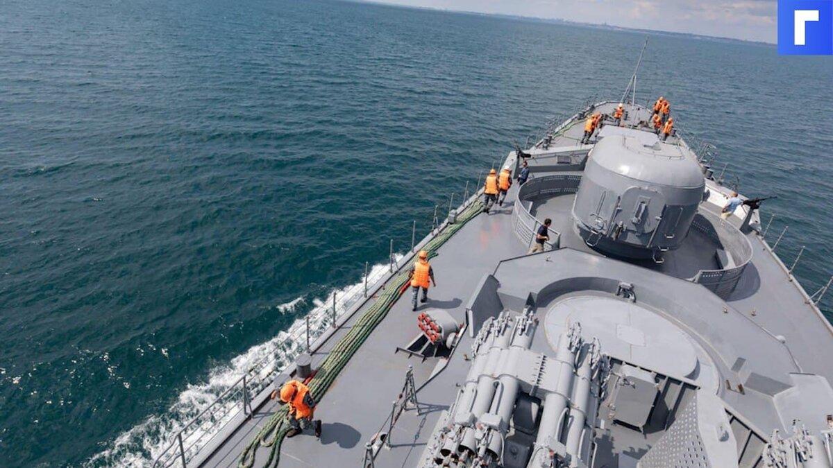 Россия призвала США и их союзников отказаться от военных учений в Черном море