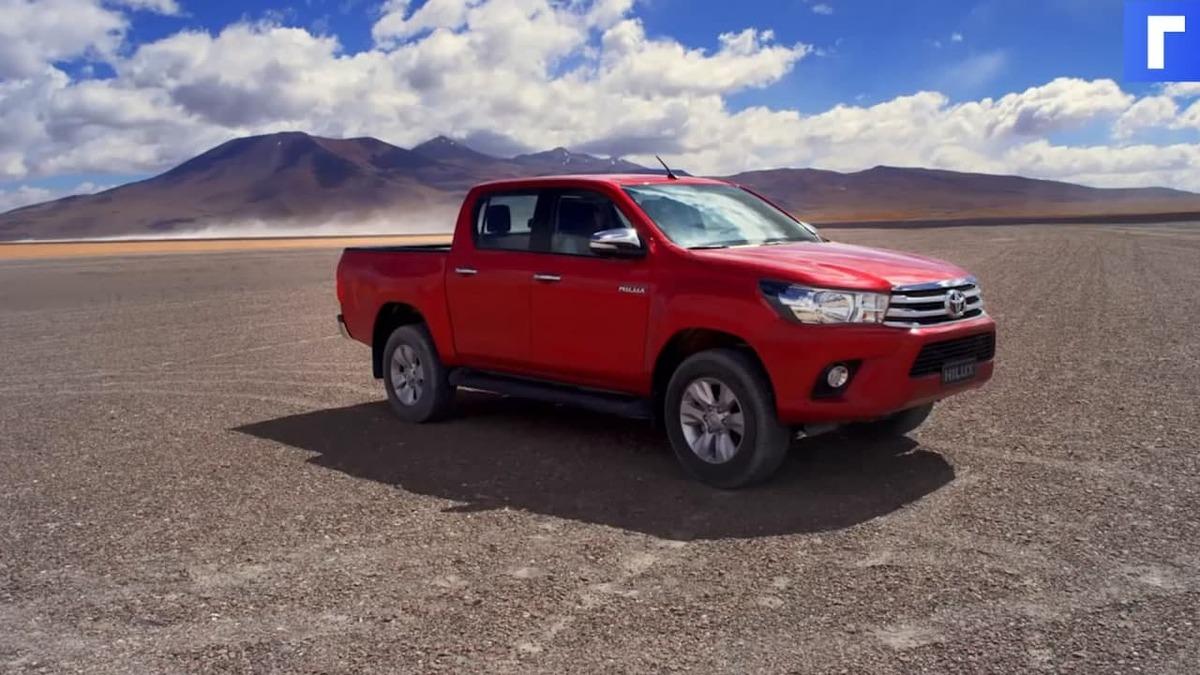 Toyota отзовет в России 3,5 тыс. автомобилей Hilux и Fortuner из-за проблем с тормозами